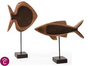 Ahud Set di 2 pesci decorativi di La Forma