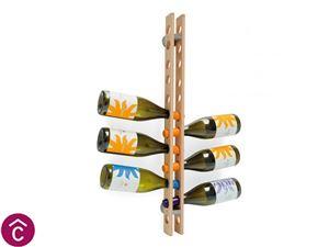 Porta Bottiglie in legno Calligaris