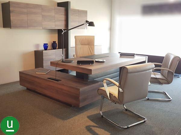 Dos srl bari arredo ufficio completo con scrivania e for Mobili design ufficio