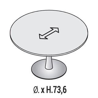 Immagine di Oxi Basic: Tavolo Riunione circolare