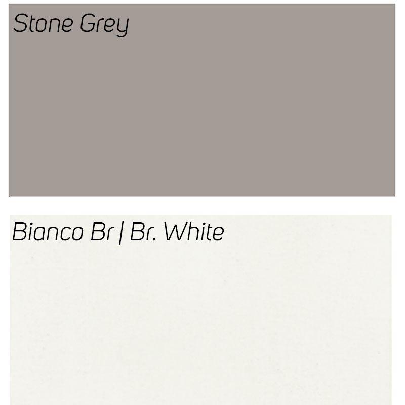 Stone Grey / Bianco Br
