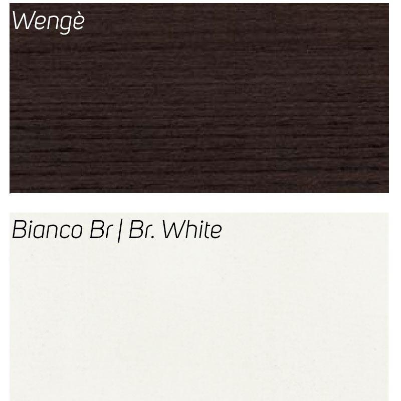 Wengè / Bianco Br