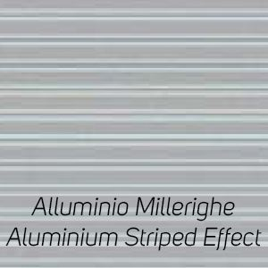 Alluminio Millerighe