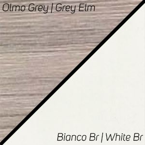 Olmo Grey / Bianco Br.