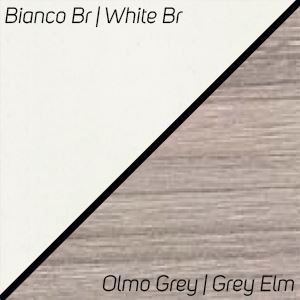 Bianco Br. / Olmo Grey
