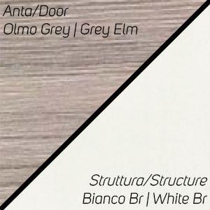 Olmo Grey / Bianco Br