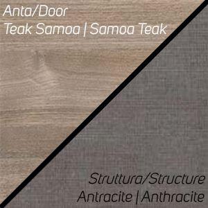 Teak Samoa / Antracite