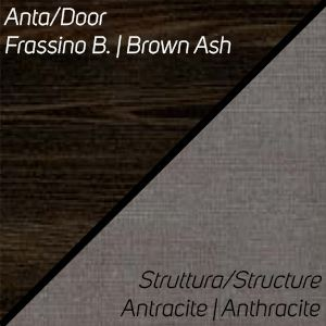 Frassino Brown / Antracite