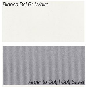 Bianco Br / Argento Golf