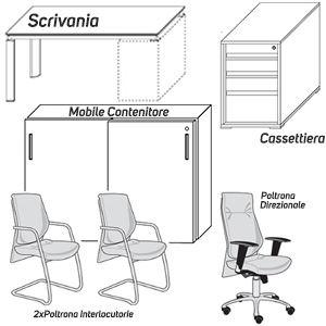 Scrivania+Mobili+Poltrone
