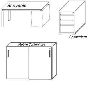 Scrivanie+Mobili [-€976,00]