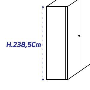 H.238,5Cm [+€146,00]