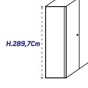 H.289,7Cm [+€305,00]