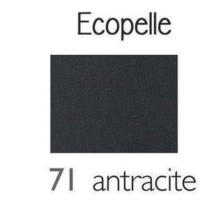 Cuscino in Ecopelle Antracite [+€35,00]