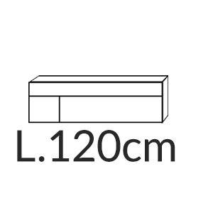 Madia Quadra L.120CM