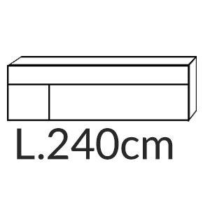 Madia Quadra L.240CM [+€564,00]