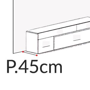 Profondità 45cm [+€40,00]
