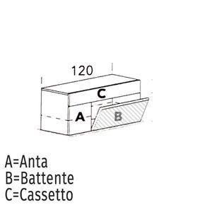 Ribalta/Battente [+€20,00]