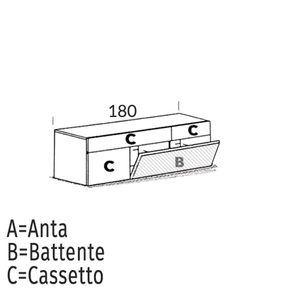 Ribalta/Battente [+€40,00]