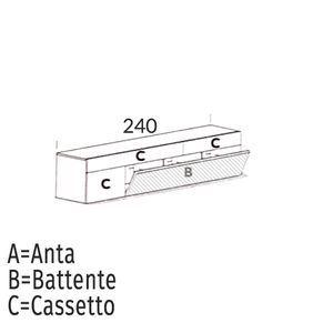 Ribalta/Battente [+€60,00]