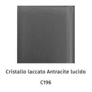 Cristallo laccato antracite lucido C196
