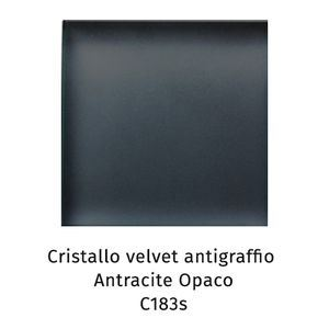 Cristallo Velvet antigraffio antracite opaco C183S [+€305,00]