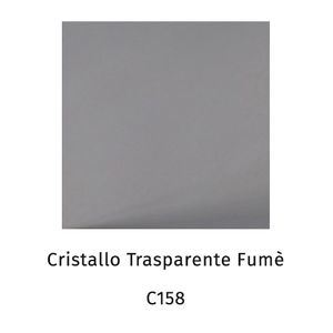 Cristallo trasparente fumè C158 [+€50,00]