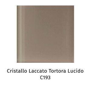 Cristallo laccato tortora lucido C193 [+€32,00]