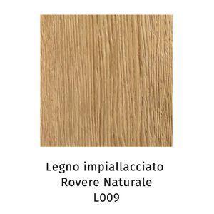 Legno Impiallacciato rovere naturale L009 (Sp.5cm) [+€480,00]
