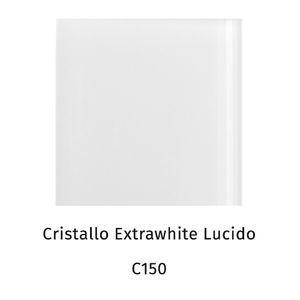 Cristallo extrawhite lucido C150 [+€100,00]