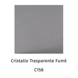Cristallo trasparente fumè C158 [+€19,00]