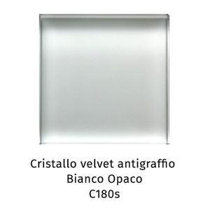 Cristallo Velvet antigraffio bianco opaco C180S [+€330,00]