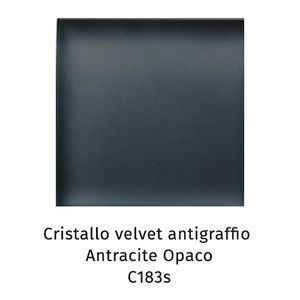 Cristallo Velvet antigraffio antracite opaco C183S [+€129,00]