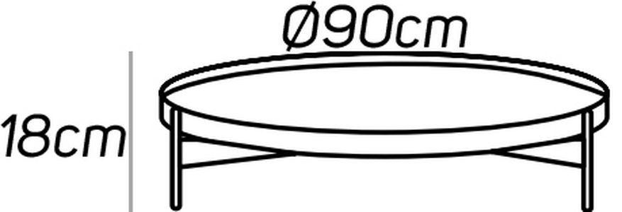 Diametro 90cm [+€106,00]