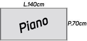 Lunghezza 140cm [+€9,00]