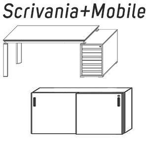 Scrivanie+Mobile Contenitore [+€1600,00]