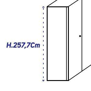 H.257,7Cm [+€260,00]