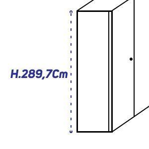 H.289,7Cm [+€370,00]