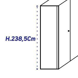 H.238,5Cm [+€440,00]