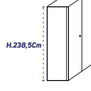 H.238,5Cm [+€280,00]