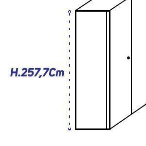 H.257,7Cm [+€510,00]