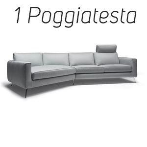 1 Poggiatesta in Tinta [+€124,00]