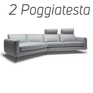 2 Poggiatesta in Tinta [+€212,00]