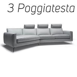 3 Poggiatesta in Tinta [+€318,00]
