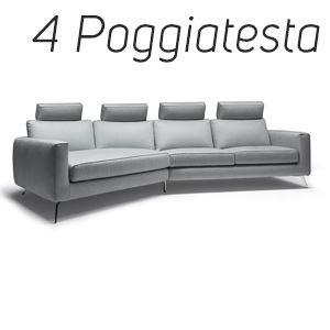 4 Poggiatesta in Tinta [+€424,00]