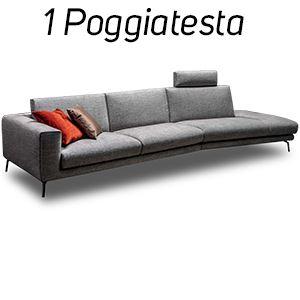 1 Poggiatesta in Tinta [+€103,00]