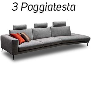 3 Poggiatesta in Tinta [+€366,00]
