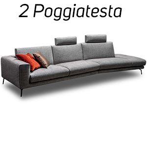 2 Poggiatesta in Tinta [+€106,00]