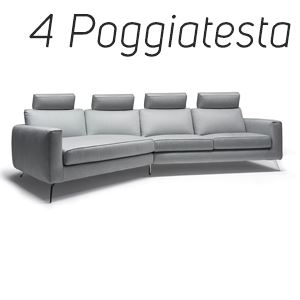 4 Poggiatesta in Tinta [+€552,00]