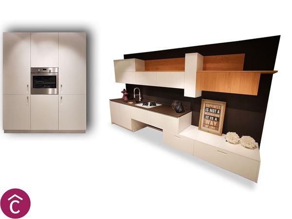 Cucina Moderna Lineare Bianca | Dos Srl, Bari. Arredamento Casa e ...